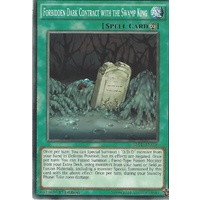 Yugioh SDPD-EN026 Forbidden Dark Contract with the Swamp King Common 1st Edition NM