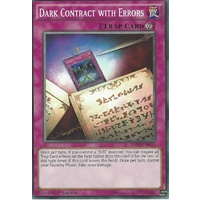 Yugioh SDPD-EN036 Dark Contract with Errors Common 1st Edition NM