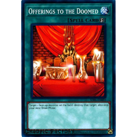 YUgioh SDPL-EN023 Offerings to the Doomed Common 1st Edition NM