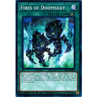 YUgioh SDPL-EN028 Fires of Doomsday Common 1st Edition NM
