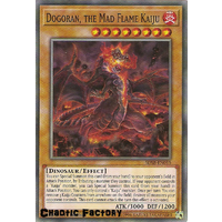 Yugioh SDSB-EN015 Dogoran, the Mad Flame Kaiju Common 1st Edition NM
