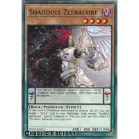 SDSH-EN011 Shaddoll Zefracore Common 1st Edtion NM