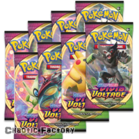 Pokemon TCG Vivid Voltage 8 x Booster Packs Bundle
