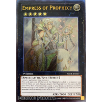 Ultimate Rare - Empress of Prophecy - ABYR-EN047 1st Edition NM