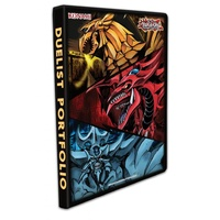 YU-GI-OH! ACCESSORIES Duelist 9-Pocket Portfolio/Binder - Egyptian Gods