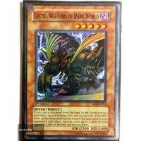 Goldd, Wu-Lord of Dark World - EEN-EN024 - Super Rare 1st edition NM