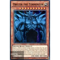 Yugioh Obelisk the Tormentor - LDK2-ENS02 - Ultra Rare Limited Edition NM God Card