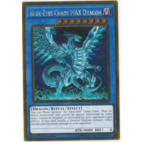 Yugioh Blue-Eyes Chaos MAX Dragon MVP1-ENG04 Gold Rare 1st Edition NM