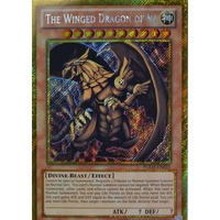 Yugioh PGLD-EN031 The Winged Dragon of RA Unlimited Edition Gold Secret