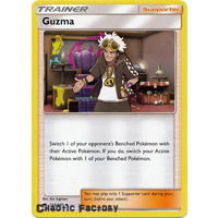 Pokemon Guzma - 115/147 - Uncommon NM