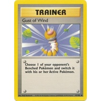 Pokemon TCG Gust of Wind - 93/102 - Common Unlimited