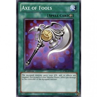 Yugioh  Axe of Fools STBL-EN058 1st Edition