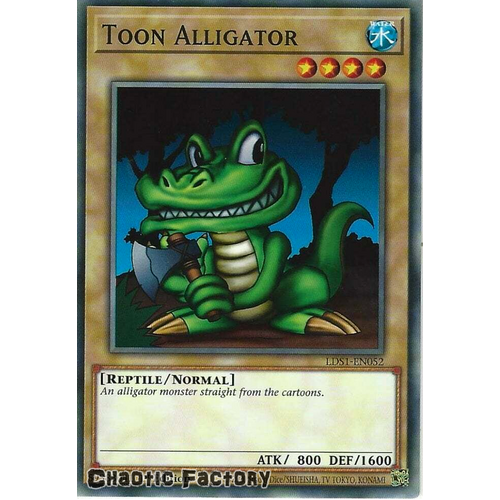LDS1-EN052 Toon Alligator Common 1st Edition NM