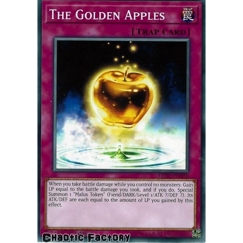 LEDU-EN050 The Golden Apples Common 1st Edition NM