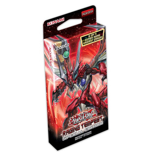 Yugioh TCG Raging Tempest Special Edition Factory Sealed!