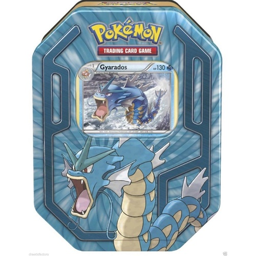 POKEMON TCG Trading cards Gyarados Collectors Tin FACTORY SEALED
