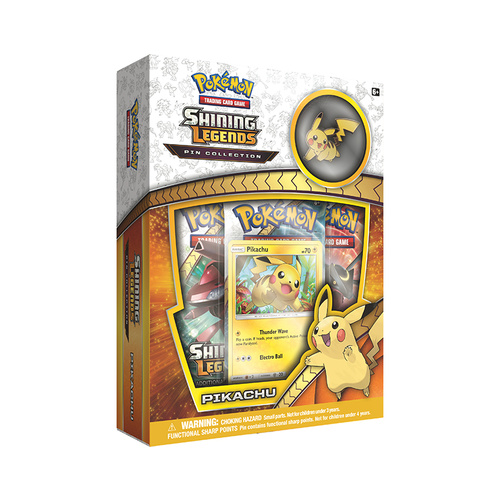 Pokemon TCG Shining Legends Pin Collection - Pikachu